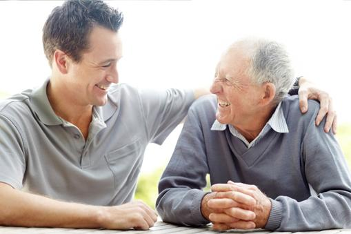 father son companion caregiver respite